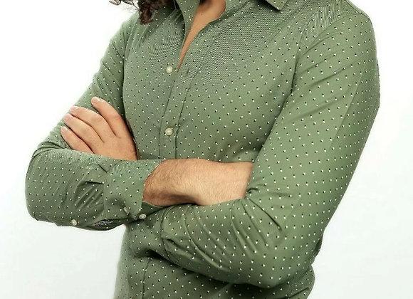 Men's Shirt Button Down Slim Fit Long Sleeve Formal Shirts