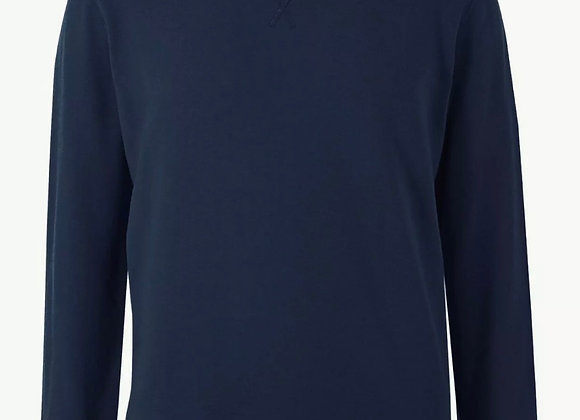 Mens MSN Plain Jumper Sweater Pullover Work Casual Leisure Top RRP £19.50