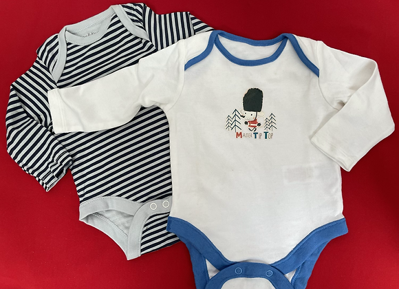 2 pcs  pack baby suits Boys girls £1.50