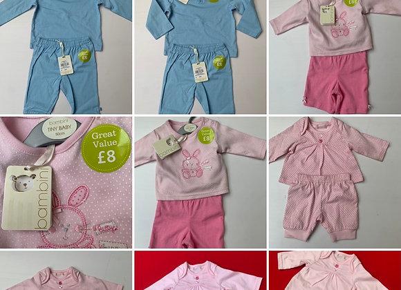 Baby Girl & Boy EX- Bambini BaOutfit Set Little kids newborn - 18months £2.50  f