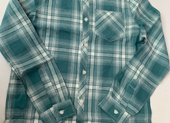 Boys long sleeve checked shirts 3/12,years £2.00  Ex store brand