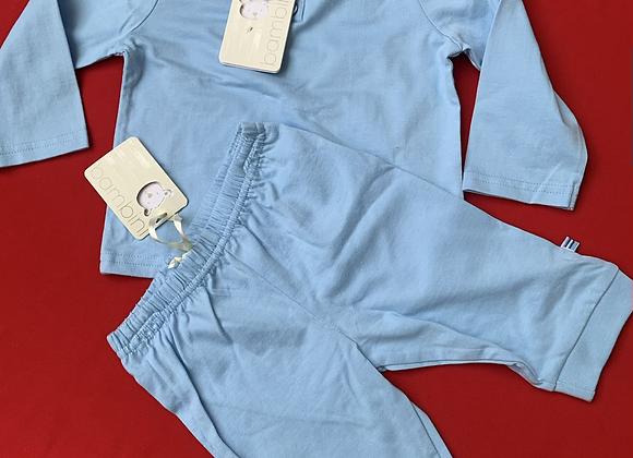 Baby Boy EX- Bambini Baby Outfit blue  Set Little kids newborn - 18months£2.50