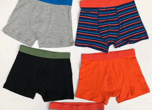 Boys BOXER ORGANIC CERTIFIED 6 pcs sets FOR£3.00