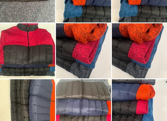 New Mens Fleece Jacket Work Wea Full Zip Up Pocket Outdoor Warm  Polar Anti Pil