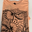 Thumbnail: Ex M&S Gree Womens Short Slee Crew Neck Printed  T Shirt Top  6-18Only £1.25