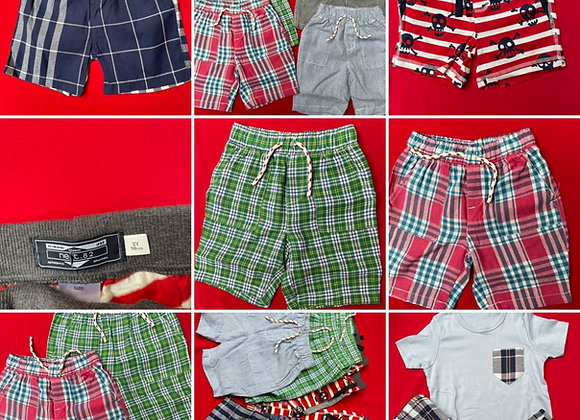 Boys summer shorts  X store 4/10 £1.50