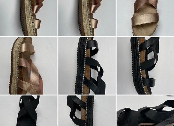 Ex uk sandals 2 colours 4/9@£2.50