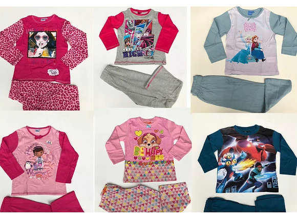 Dolls Girls & BOY Pyjamas Character Nightwear  2Yrs Upto 6 Years £3.50