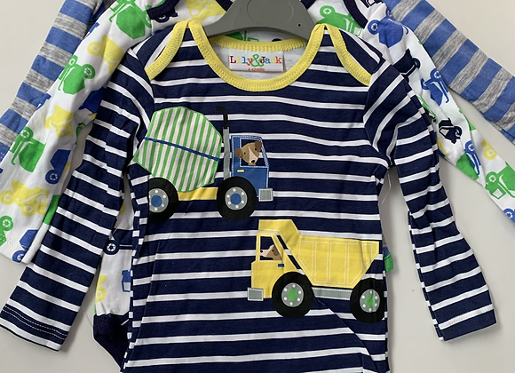 Baby suits  long sleeve 100% cotton 3 pcs £3.00