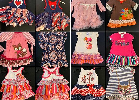 Nice girls dress 1/2  -6  years @3.50