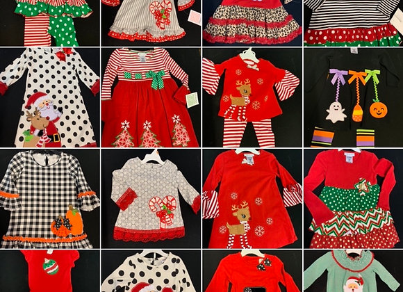 Christmas dress 2 years to 12 @£3.50