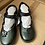 Thumbnail: Girls Black School Shoes Faux Leather T Bar Mary Jane Chunky Shoes Kids Size £4