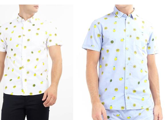 Cotton shirts short sleeve £5