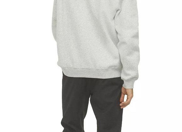 Mens Hoodie Pullover Hooded Sweatshirt Fleece Hoody Plain Winter Heavy Work Top