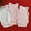 Thumbnail: Ex Next Baby girls   3 pack of body suit vests Newborn - 3 Years