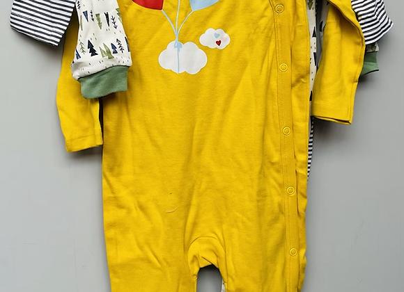 Ex Major HighStreet Baby Sleepsuits 3 pack - £4.50