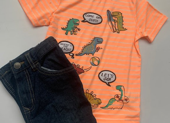 Boys sets 2/6 years Short Sleeve T-shirts and truser  X store £4