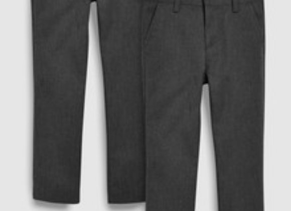 Boys school trouser  / gray 3/4 to 13/14 years £1.50