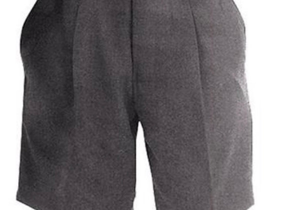 New Boys Kids School Shorts Uniform Adjustable Waist 2 To 14 Years Grey