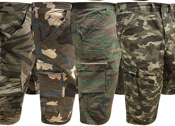 Cargo Combat Chino 3/4 Long Shorts Designer £4.00