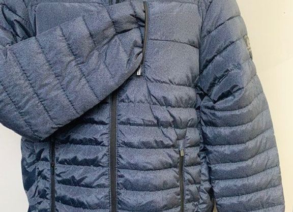 Mens BLUEWATER NAVY Insulated Jacket