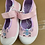 Thumbnail: Girls ex store Bow Disty Slip On Shoe pink £2