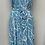 Thumbnail: Black blue floral dress