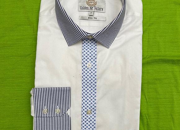 White Men Long Sleeve Shirt £3.75