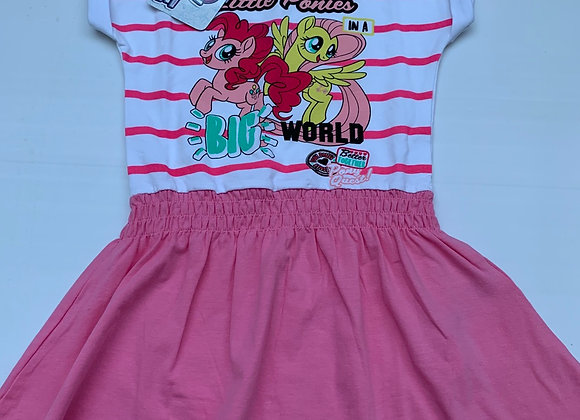 GIRLS LICENSE MY LITTLE PONY SHORT SLEEVE DRESS click to enlarge £2.50