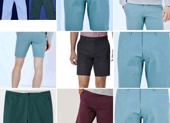 Men's short shine slim fit £6