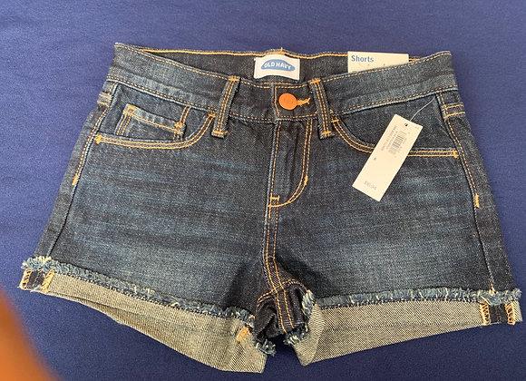 Kids Girls Shorts Denim Ripped Chino Bermuda Jeans Short Half Pants £2.50