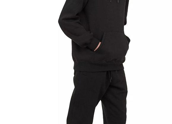 Mens Hoodie Pullover Hooded Sweatshirt Fleece Hoody Plain Winter Heavy Work £10