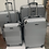 Thumbnail: 4PCS Hard shell Trolley Suitcase 4 Wheel Lightweight Spinner Luggage Travel Case