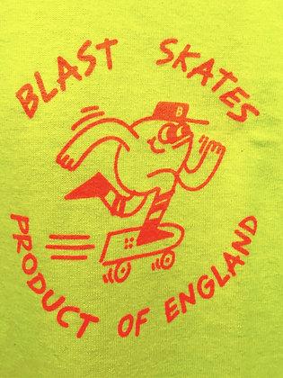 Blast 'Loose Mascot' Tee - Acid Fluro
