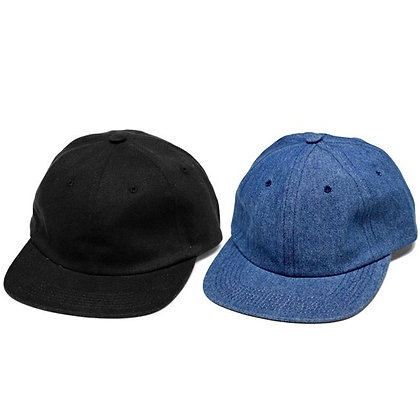 Hotel Blue 'Denim Arch Logo' Cap - Black / Blue