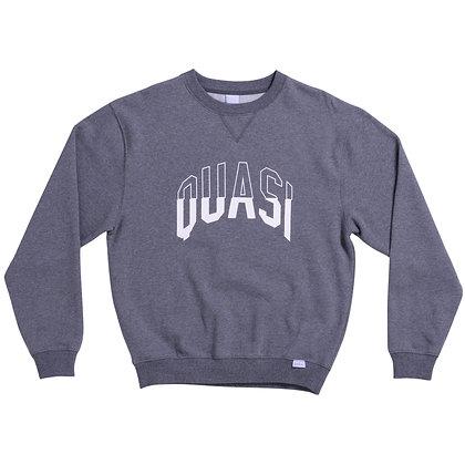 Quasi 'Arc' Crew Sweat - Charcoal