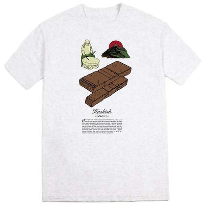 Snack 'Hashish' Tee Grey