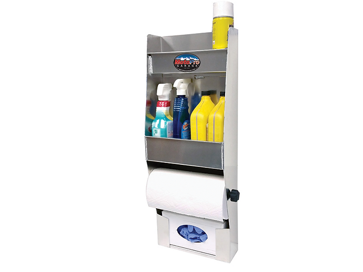 3 Shelf Organizer w/ Towel Holder