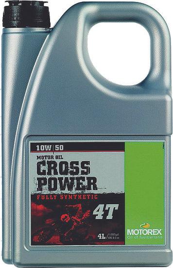 MOTOREX CROSS POWER 4T 10W50 (4 LITERS)