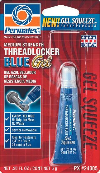 PERMATEX THREADLOCKER BLUE GEL 5G