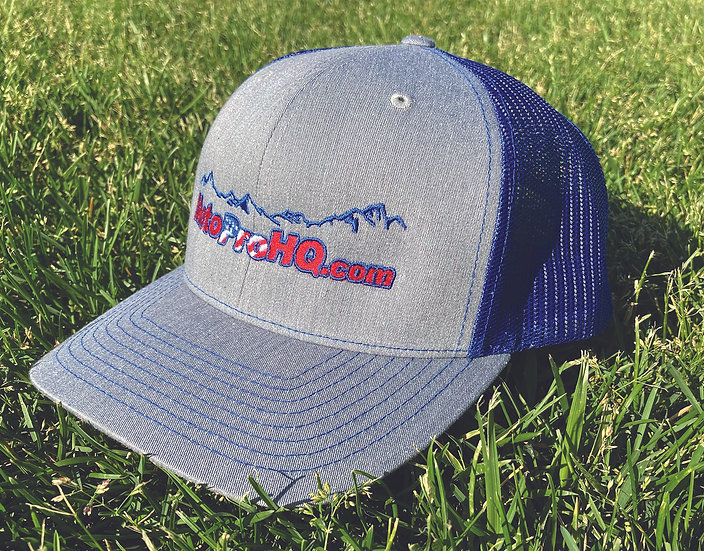 MotoProHQ Heather/Royal Mid Profile Hat