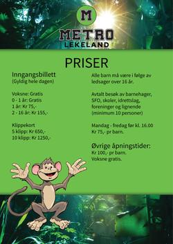 Prisliste Lekeland