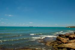 Bilde ved sjøen