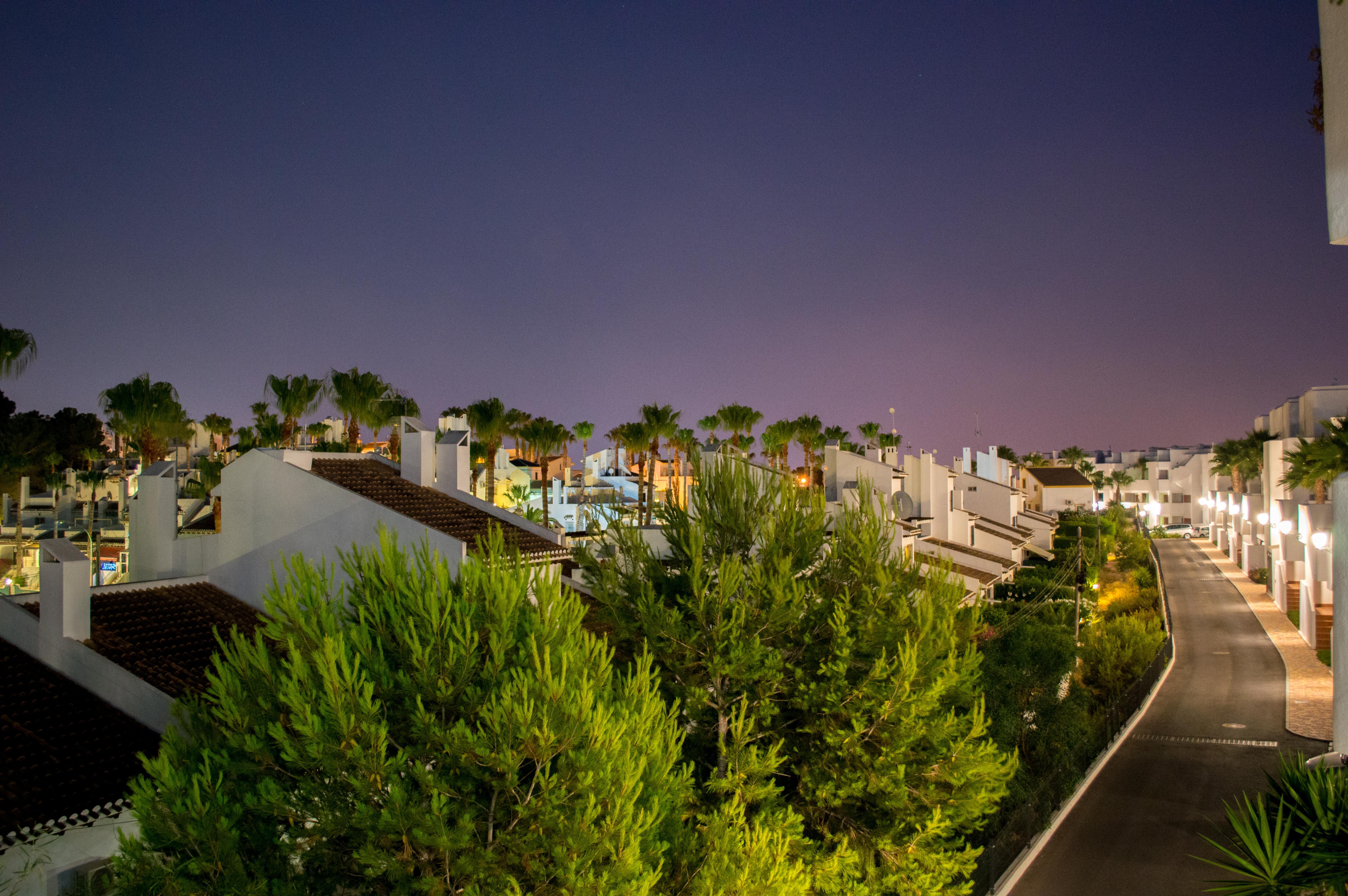 Nattbilde i byen
