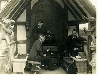 BBC crew recording a nightingale and cello