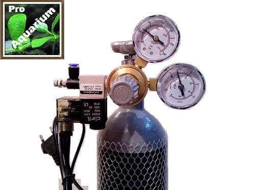 Redutor CO2 com válv.solenoide