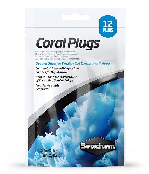 "Coral Plugs ""Seachem"" 12und."
