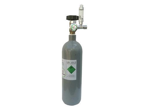 KIT CO2 ( botija 2kg + redutor )