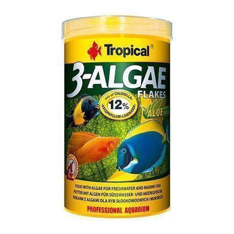 """3-Algae Flakes """"Tropical"""" 50ml"""