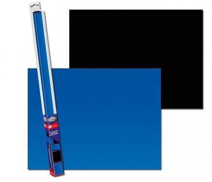 Fundo bilateral Black/Blue 100x50cm